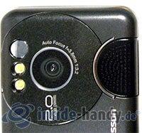 Sony Ericsson W610i: Kamera