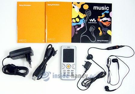 Sony Ericsson W610i: Lieferumfang