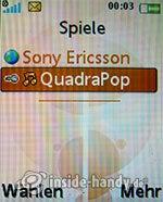 Sony Ericsson W610i: Spiele