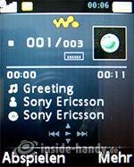 Sony Ericsson W610i: Walkman