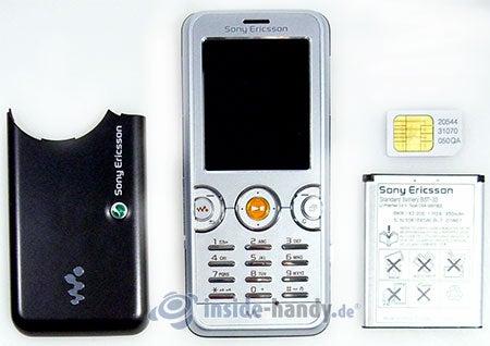 Sony Ericsson W610i: zerlegt in Bestandteile