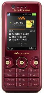 Sony W660i Datenblatt - Foto des Sony W660i
