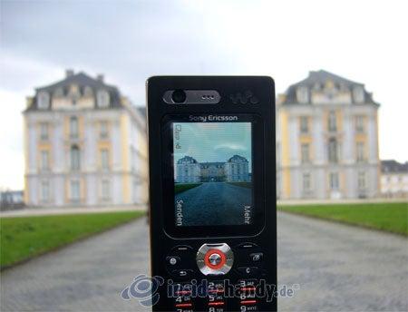 Sony Ericsson W880i: beim Fotografieren