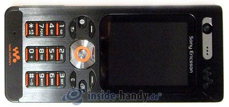 Sony Ericsson W880i: Draufsicht
