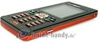 Sony Ericsson W880i: Draufsicht unten rechts
