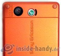 Sony Ericsson W880i: Kamera