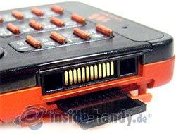 Sony Ericsson W880i: Speicherkartenslot