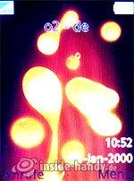 Sony Ericsson W880i: Startbildschirm