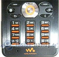 Sony Ericsson W880i: Tastatur