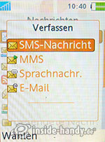 Sony Ericsson W880i: Verfassen