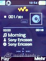 Sony Ericsson W880i: Walkman