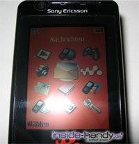 Sony Ericsson W900i - Display