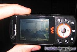 Sony Ericsson W900i - Foto schießen