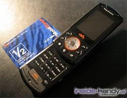 Sony Ericsson W900i - größe