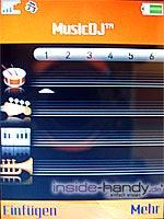 Sony Ericsson W900i - Musik DJ