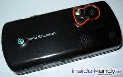 Sony Ericsson W900i - schräg