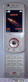 Sony Ericsson W900i - weiß