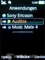Sony Ericsson W910i: Anwendungen