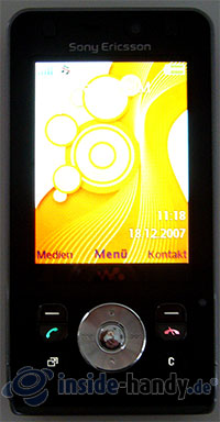 Sony Ericsson W910i: Display