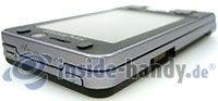 Sony Ericsson W910i: Ecke oben links