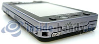 Sony Ericsson W910i: Ecke oben rechts