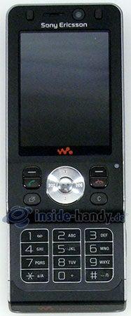 Sony Ericsson W910i: Handy offen