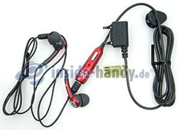 Sony Ericsson W910i: Headset