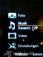 Sony Ericsson W910i: Medien