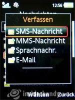 Sony Ericsson W910i: Nachricht Erstellen