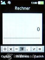 Sony Ericsson W910i: Rechner