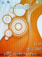 Sony Ericsson W910i: Startbild