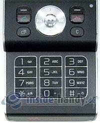 Sony Ericsson W910i: Tastatur