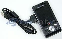 Sony Ericsson W910i: USB-Kabel