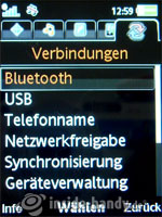 Sony Ericsson W910i: Verbindungen