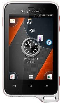 Sony Xperia active Datenblatt - Foto des Sony Xperia active