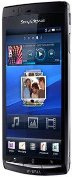 Sony Xperia arc Datenblatt - Foto des Sony Xperia arc