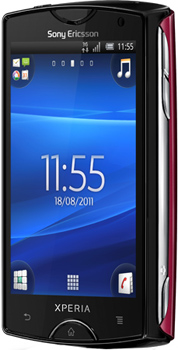 Sony Xperia Mini Datenblatt - Foto des Sony Xperia Mini