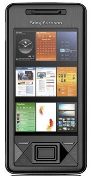 Sony Xperia X1 Datenblatt - Foto des Sony Xperia X1