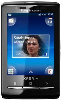 Sony Xperia X10 Mini Datenblatt - Foto des Sony Xperia X10 Mini