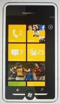 Sony Xperia X7 Datenblatt - Foto des Sony Xperia X7