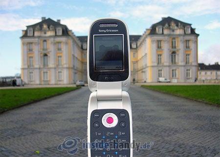Sony Ericsson Z310i: beim Fotografieren