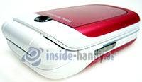 Sony Ericsson Z310i: Draufsicht oben links
