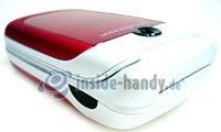 Sony Ericsson Z310i: Draufsicht rechts oben