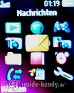 Sony Ericsson Z310i: Hauptmenü