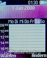 Sony Ericsson Z310i: Kalender
