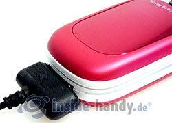 Sony Ericsson Z310i: mit Memorykarte