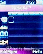 Sony Ericsson Z310i: MusicDJ