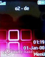 Sony Ericsson Z310i: Startbildschirm