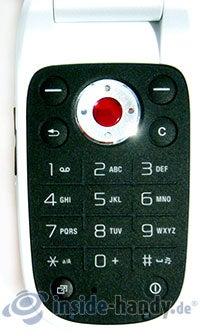 Sony Ericsson Z310i: Tastatur