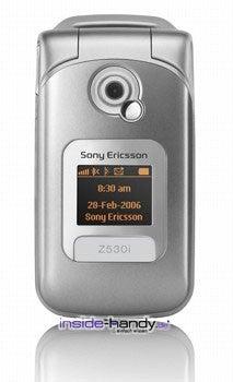 Sony Z530i Datenblatt - Foto des Sony Z530i